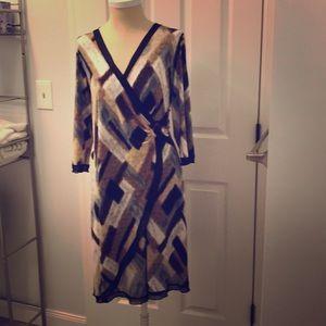 PAPPILLON BLANC Dress long sleeve.